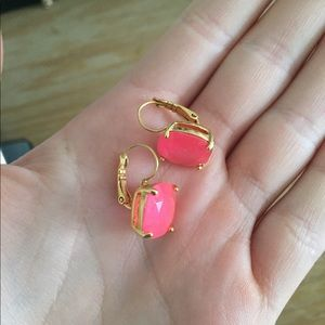 Pink Kate Spade Drop Earrings